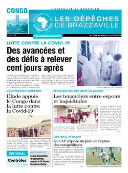 Les Dépêches de Brazzaville : Édition brazzaville du 24 juin 2020