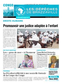 Les Dépêches de Brazzaville : Édition brazzaville du 25 juin 2020