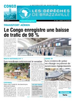 Les Dépêches de Brazzaville : Édition brazzaville du 30 juin 2020