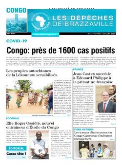 Les Dépêches de Brazzaville : Édition brazzaville du 06 juillet 2020