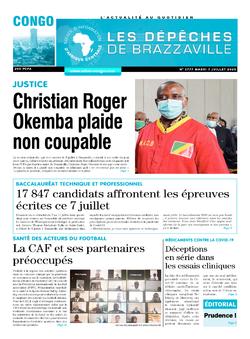 Les Dépêches de Brazzaville : Édition brazzaville du 07 juillet 2020
