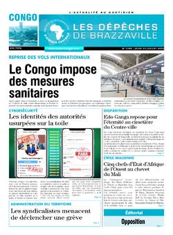 Les Dépêches de Brazzaville : Édition brazzaville du 23 juillet 2020