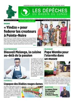 Les Dépêches de Brazzaville : Édition du 6e jour du 25 juillet 2020