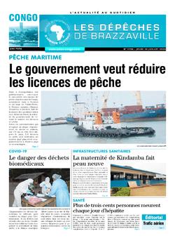 Les Dépêches de Brazzaville : Édition brazzaville du 30 juillet 2020