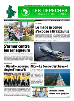 Les Dépêches de Brazzaville : Édition du 6e jour du 01 août 2020