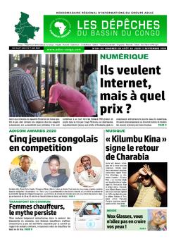Les Dépêches de Brazzaville : Édition du 6e jour du 29 août 2020