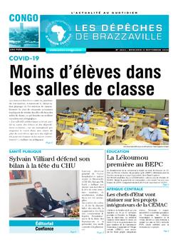 Les Dépêches de Brazzaville : Édition brazzaville du 09 septembre 2020
