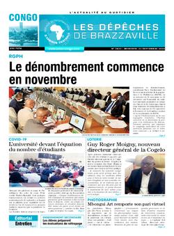 Les Dépêches de Brazzaville : Édition brazzaville du 23 septembre 2020