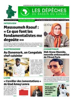 Les Dépêches de Brazzaville : Édition du 6e jour du 26 septembre 2020