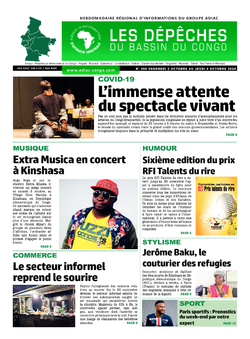 Les Dépêches de Brazzaville : Édition du 6e jour du 03 octobre 2020