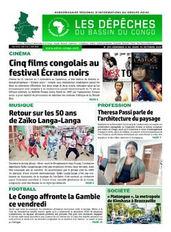 Les Dépêches de Brazzaville : Édition du 6e jour du 10 octobre 2020