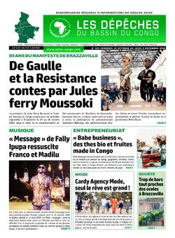 Les Dépêches de Brazzaville : Édition du 6e jour du 31 octobre 2020