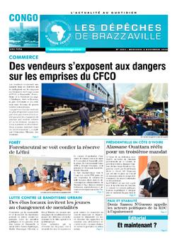 Les Dépêches de Brazzaville : Édition brazzaville du 04 novembre 2020