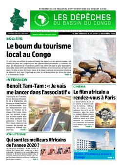 Les Dépêches de Brazzaville : Édition du 6e jour du 07 novembre 2020