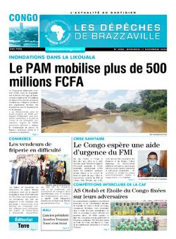 Les Dépêches de Brazzaville : Édition brazzaville du 11 novembre 2020