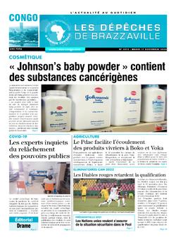 Les Dépêches de Brazzaville : Édition brazzaville du 17 novembre 2020