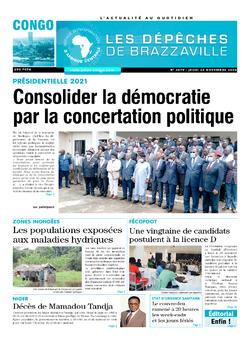 Les Dépêches de Brazzaville : Édition brazzaville du 26 novembre 2020