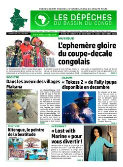 Les Dépêches de Brazzaville : Édition du 6e jour du 28 novembre 2020
