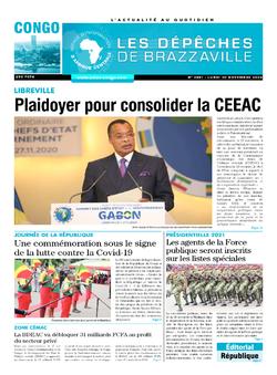 Les Dépêches de Brazzaville : Édition brazzaville du 30 novembre 2020