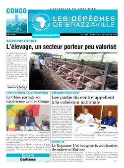 Les Dépêches de Brazzaville : Édition brazzaville du 09 décembre 2020
