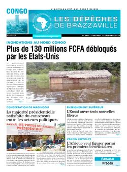 Les Dépêches de Brazzaville : Édition brazzaville du 11 décembre 2020