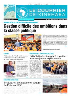 Les Dépêches de Brazzaville : Édition brazzaville du 16 décembre 2020