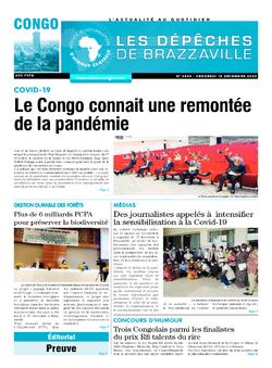 Les Dépêches de Brazzaville : Édition brazzaville du 18 décembre 2020