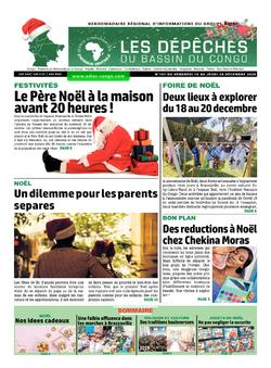 Les Dépêches de Brazzaville : Édition du 6e jour du 19 décembre 2020