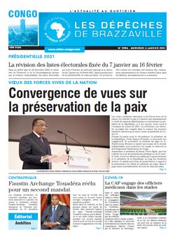Les Dépêches de Brazzaville : Édition brazzaville du 06 janvier 2021