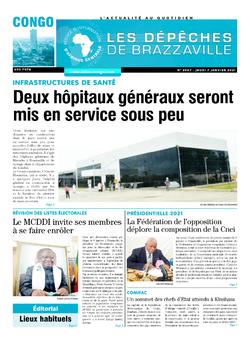 Les Dépêches de Brazzaville : Édition brazzaville du 07 janvier 2021