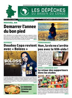 Les Dépêches de Brazzaville : Édition du 6e jour du 09 janvier 2021