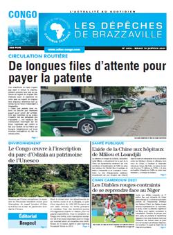 Les Dépêches de Brazzaville : Édition brazzaville du 19 janvier 2021