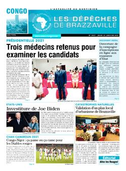 Les Dépêches de Brazzaville : Édition brazzaville du 21 janvier 2021