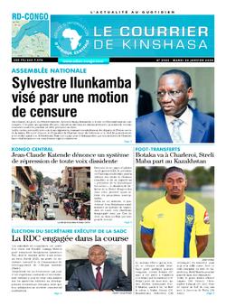 Les Dépêches de Brazzaville : Édition brazzaville du 26 janvier 2021