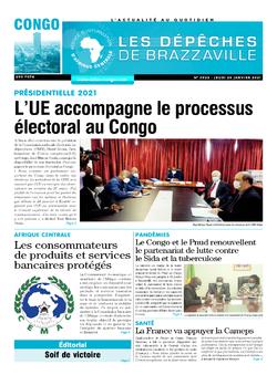 Les Dépêches de Brazzaville : Édition brazzaville du 28 janvier 2021