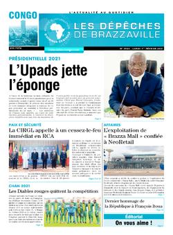 Les Dépêches de Brazzaville : Édition brazzaville du 01 février 2021
