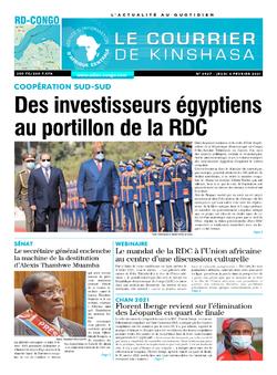 Les Dépêches de Brazzaville : Édition brazzaville du 04 février 2021