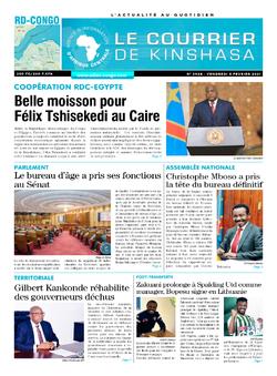 Les Dépêches de Brazzaville : Édition brazzaville du 05 février 2021