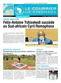 Les Dépêches de Brazzaville : Édition brazzaville du 08 février 2021