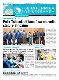 Les Dépêches de Brazzaville : Édition brazzaville du 09 février 2021