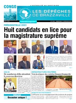 Les Dépêches de Brazzaville : Édition brazzaville du 10 février 2021