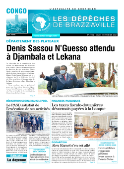 Les Dépêches de Brazzaville : Édition brazzaville du 11 février 2021