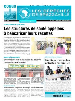 Les Dépêches de Brazzaville : Édition brazzaville du 12 février 2021