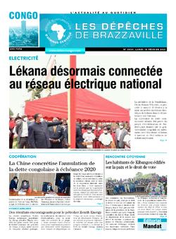 Les Dépêches de Brazzaville : Édition brazzaville du 15 février 2021