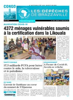Les Dépêches de Brazzaville : Édition brazzaville du 16 février 2021