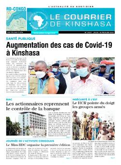 Les Dépêches de Brazzaville : Édition brazzaville du 18 février 2021