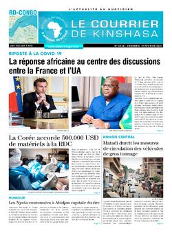 Les Dépêches de Brazzaville : Édition brazzaville du 19 février 2021