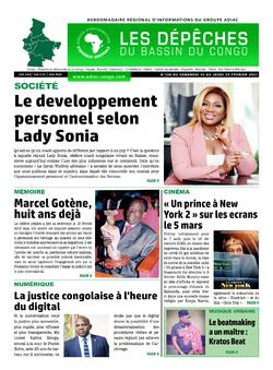 Les Dépêches de Brazzaville : Édition du 6e jour du 20 février 2021