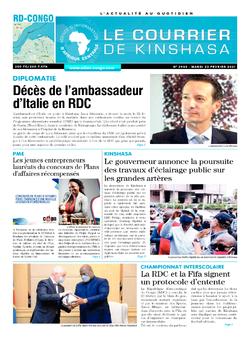 Les Dépêches de Brazzaville : Édition brazzaville du 23 février 2021