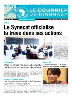 Les Dépêches de Brazzaville : Édition brazzaville du 24 février 2021